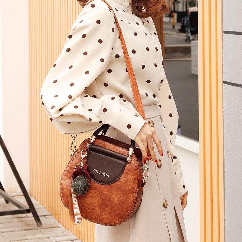 Image 3 - New women messenger bag female small tote top handle bag shoulder  crossbody bags ladies designer handbag famous brands  BandoleraTop-Handle Bags