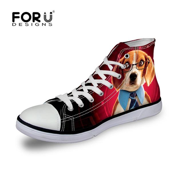 Tamanho 35-40 Moda Cunha Plataforma Sapatos de Lona Primavera Verão Outono Mulheres Sapatos Casuais Cão Bonito Impressão Panda Zapatos mujer