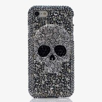 Beautiful Women Skull Diamond Rhinestone Case Cover For Sony Xperia XA XZ Z1 Z2 Z3 Z4