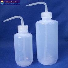 250 мл/500 мл 1 шт лабораторная пластиковая бутылка для мытья, емкость для мытья татуировок прозрачный белый пластиковый зеленый флакон для мыла