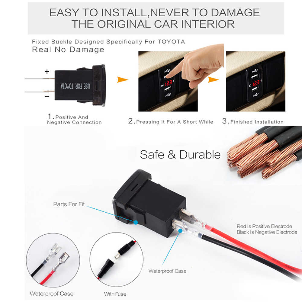 Strange Detail Feedback Questions About Dual Usb Car Charger Led Power Wiring Cloud Cosmuggs Outletorg