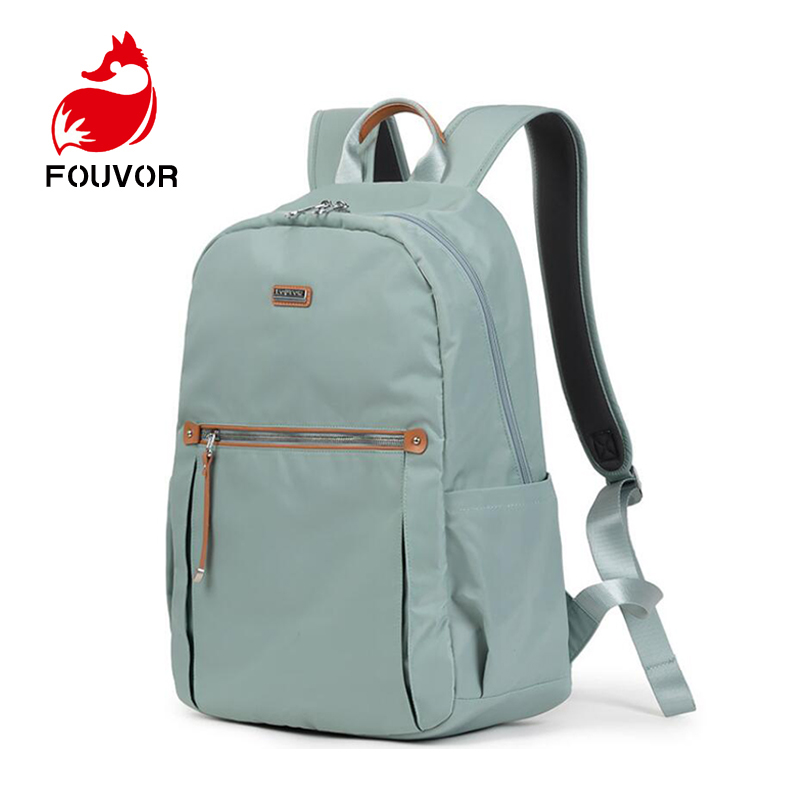 Fouvor Fashion Women Backpack For Teenagers Girls Stylish School Bag Waterproof Oxford Fabric Backpack Female Bookbag Mochila