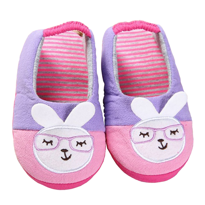 61806cdf1f3 Brand Little Kids Slippers for Girls Shoes Toddler Baby Cute Cartoon Bunny  Indoor Rubble Sole Home Flats Teen Casual Garden Shoe