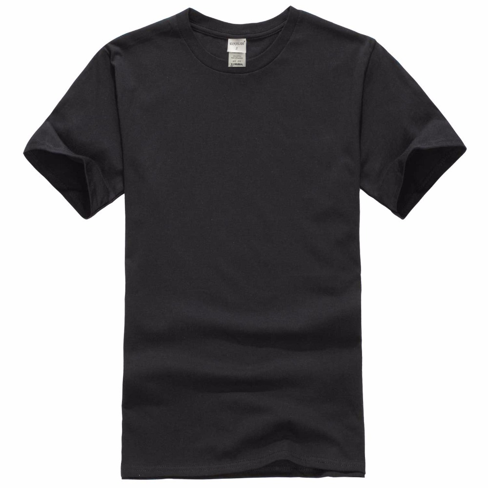 2018 New Solid Color T Shirt Mens Black And White 100% Cotton T-shirts Summer Skateboard Tee Boy Skate Tshirt Tops Ideal Gift For All Occasions