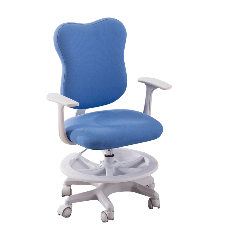 Lifted Children's Study Stool Multifunction Sitting Posture Correction Chair Multifunction With Footrest Soft Kids Writing Chair