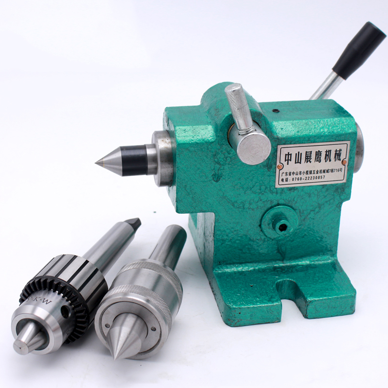 Lathe Tailstock Assembly DIY Simple Fast Expansion Spindle Tailstock Tip MT3 Head Y|Tool Parts| |  - title=
