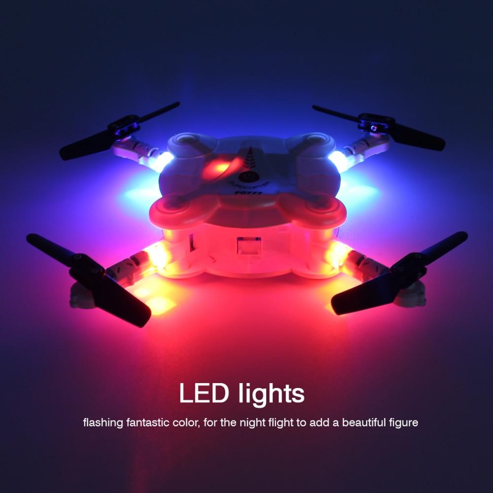 FQ777 FQ17w Eachine E55 Mini WiFi FPV Foldable Pocketable Drone With High Hold Mode RC Quadcopter