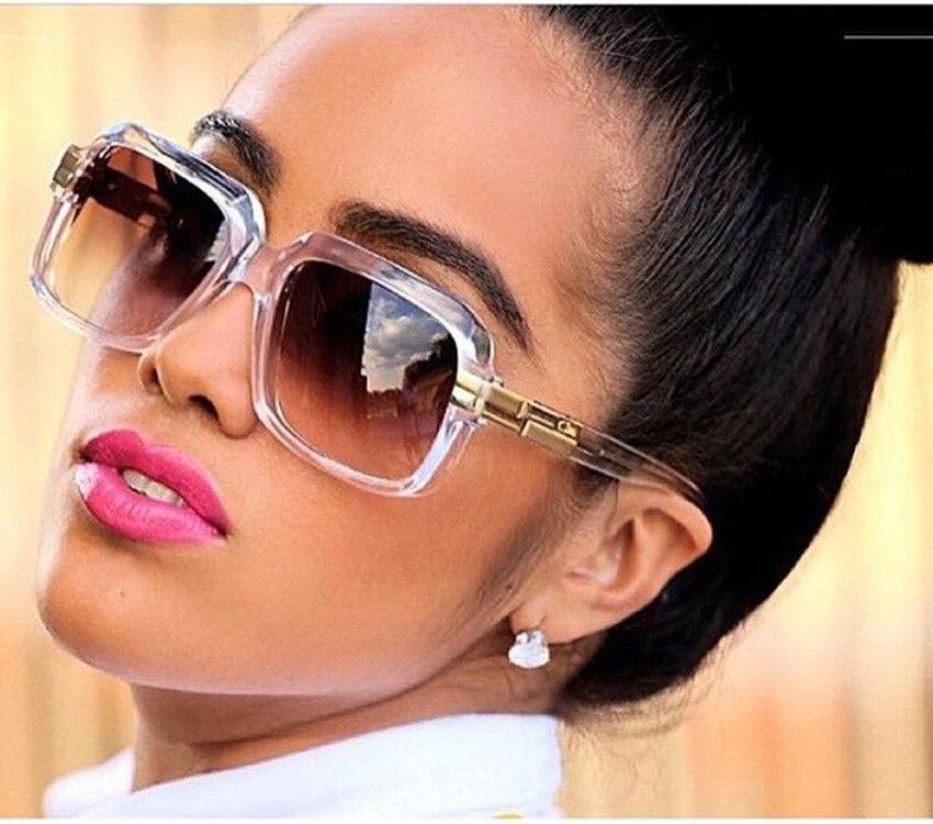Männer Frauen Trend Retro Platz Outdoor Sonnenbrille Luxus Hohe - Bekleidungszubehör - Foto 2