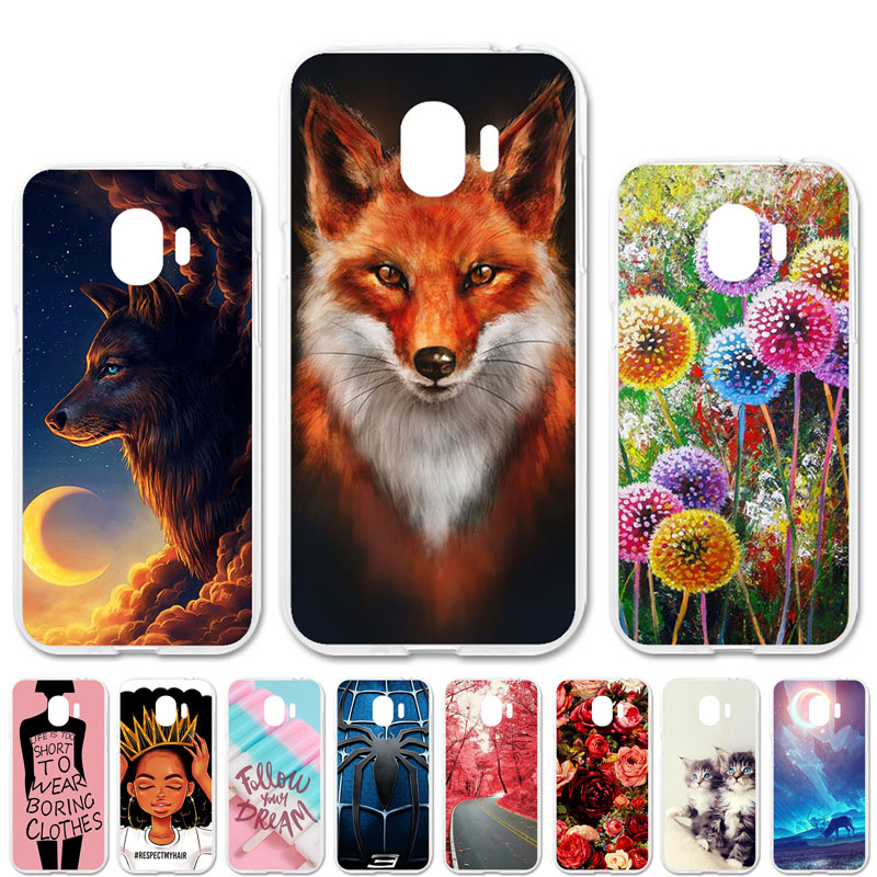 TAOYUNXI Soft TPU Case For <font><b>Samsung</b></font> <font><b>Galaxy</b></font> <font><b>J2</b></font> <font><b>2018</b></font> <font><b>J2</b></font> PRO <font><b>2018</b></font> Cases For <font><b>Galaxy</b></font> Gand Prime Pro J250 <font><b>J250F</b></font> DIY Painted Covers image