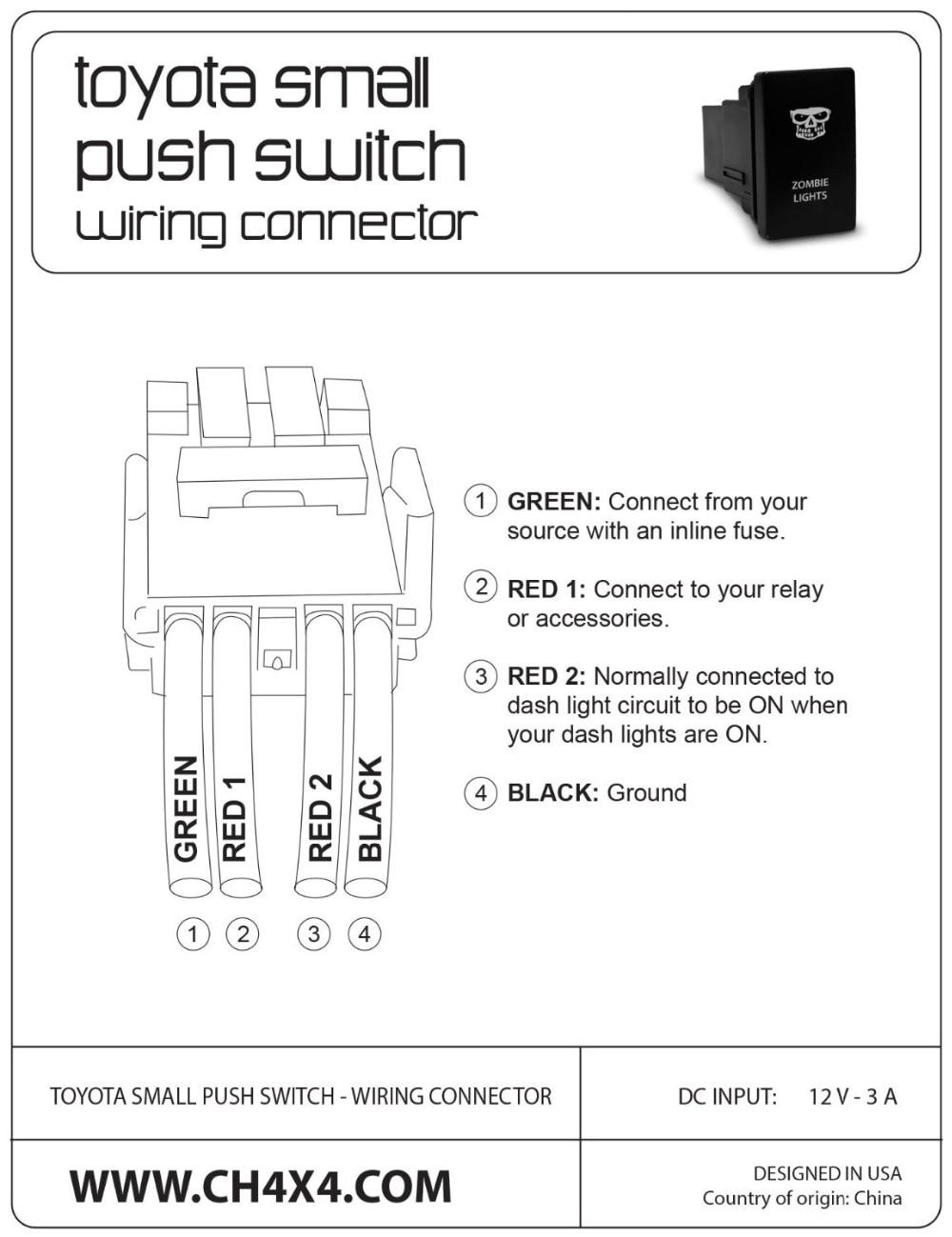 Inline Power Switch Light Wiring Diagram Lampholder Lamp Holder 12 Volt Push On Worksheet And