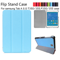 Magnet Luxury Stand Pu Leather Case Cover For Samsung Galaxy Tab A 8 0 T350 T355