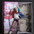 Crazy Toys Keychain Suicide Squad Harley Quinn Action Figure PVC Doll Anime Collectible Model Toy 26cm