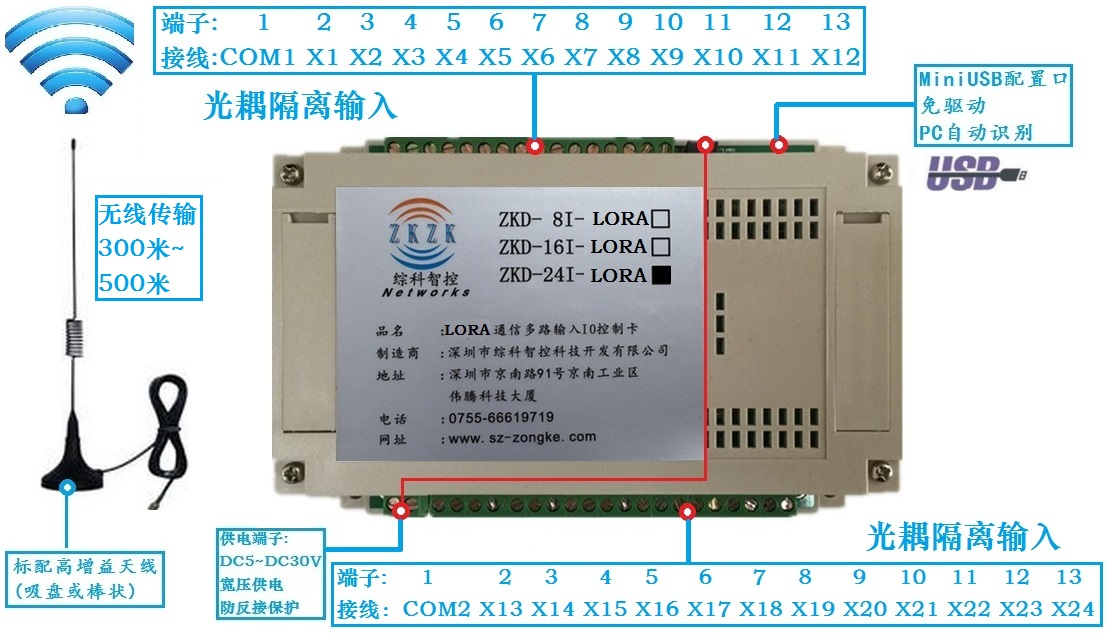 IO switch signal remote control, wireless IO signal acquisition linkage control, remote pairing and mutual control 20 ways