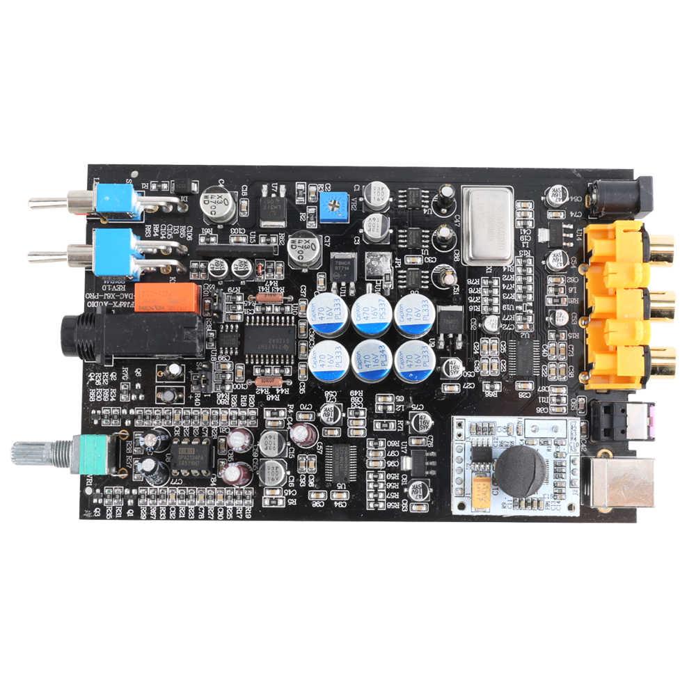Fx-аудио feixiang DAC-X6 лихорадка МИНИ HiFi USB Fiber Коаксиальный цифровой звуковой декодер ЦАП 24BIT / 96 усилитель  TPA6120