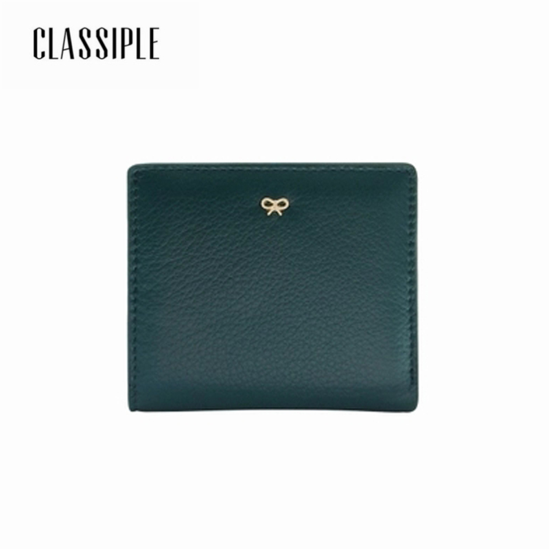 New Fashion Small Women Wallets Female Genuine Leather 2018 Cow Genuine Leather Ladies Short Wallets Coin