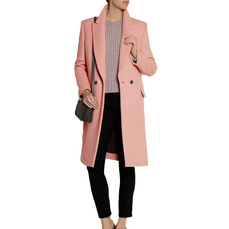 Online Get Cheap Wool Pink Coat -Aliexpress.com | Alibaba Group