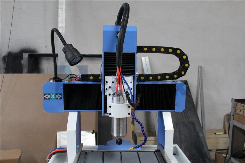 Vis à billes transmission CNC routeur 4040 moule en métal machine 3 axes CNC routeur cadre en aluminium