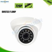 Hybird Камера Поддержка/AHD/TVI/CVI/CVBS выход 720 P/1.0mp 4 в 1 Режим ov9732 CMOS Купольных Камера внутреннего использования as-mhd2204r1