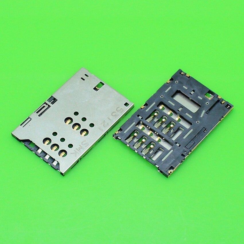 ChengHaoRan 1 Piece Sim card reader holder for Sony Ericsson ST25i ST25 X5i card socket slot tray module,KA-103