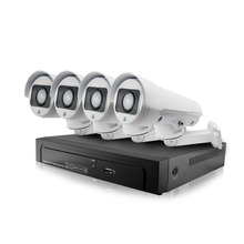 4CH 1080P IP Camera PTZ System Pan Rotate CCTV Outdoor Security HD Video Network P2P