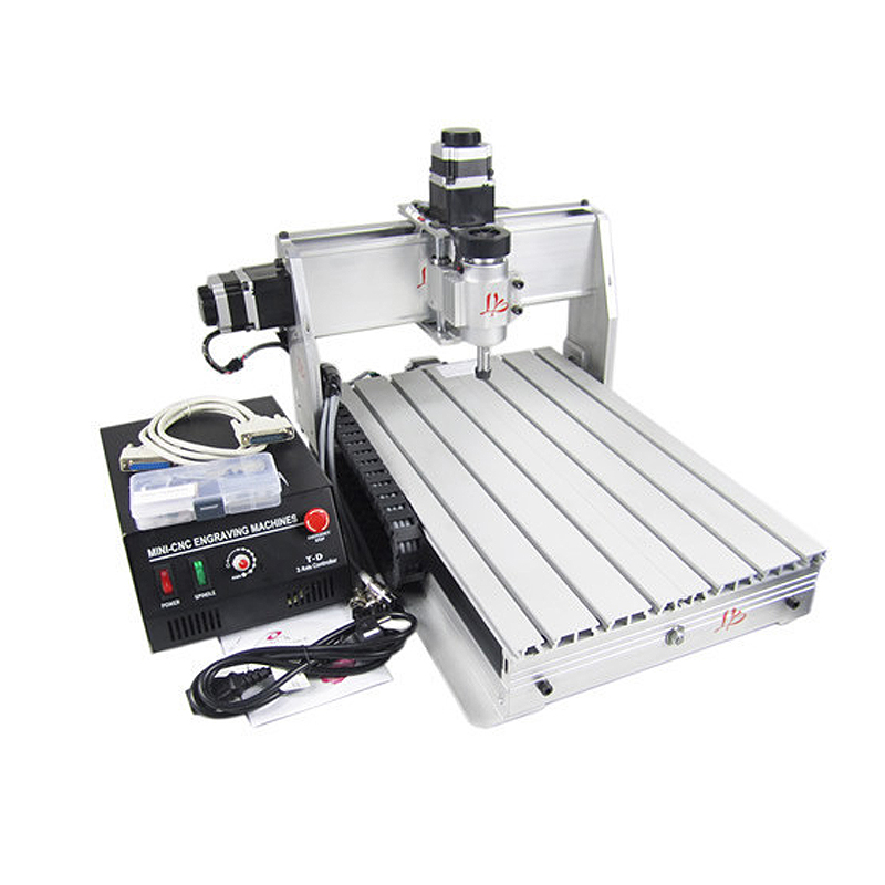 Free shipping CNC 3040 T-DJ wood engraving machine 3040T-DJ PCB milling router with 230W spindle motor eur free tax cnc 6040z frame of engraving and milling machine for diy cnc router