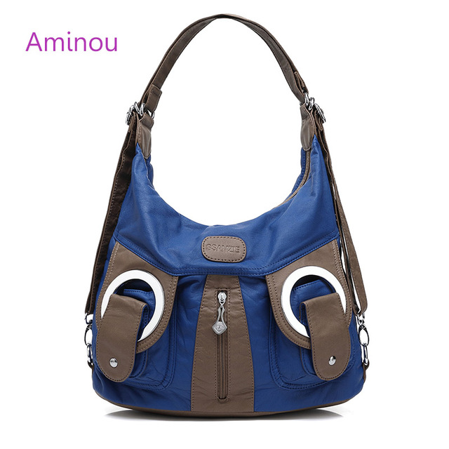 e013f5c95b7f Luxury Handbag Ladies Hobos Bag Totes Fashion Soft leather Crossbody Shoulder  Bags 2017 New Design Vintage