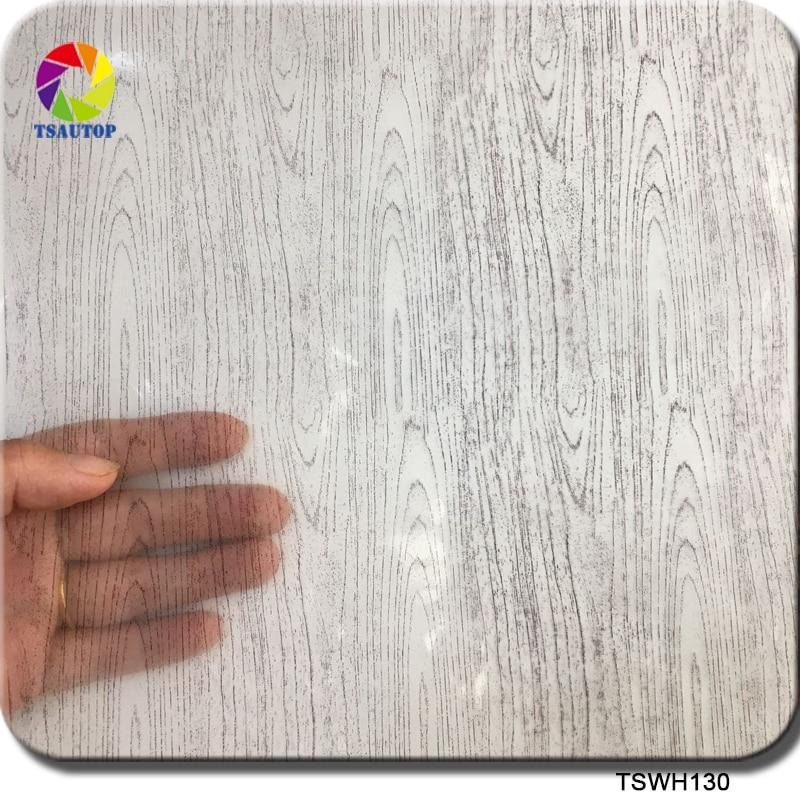 Intellektuell Kostenloser Versand Tsautop Transparent Holzmaserung Hydro Dipping Film Wasser Druck Film Transfer Wdf130 Aufkleber & Sticker