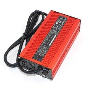 Image 3 - 67.2V 3A Charger 67.2V Li Ion Batterij Smart Charger Voor 16S 59.2V 60V Li Ion Batterij Hoge power Met Ventilator