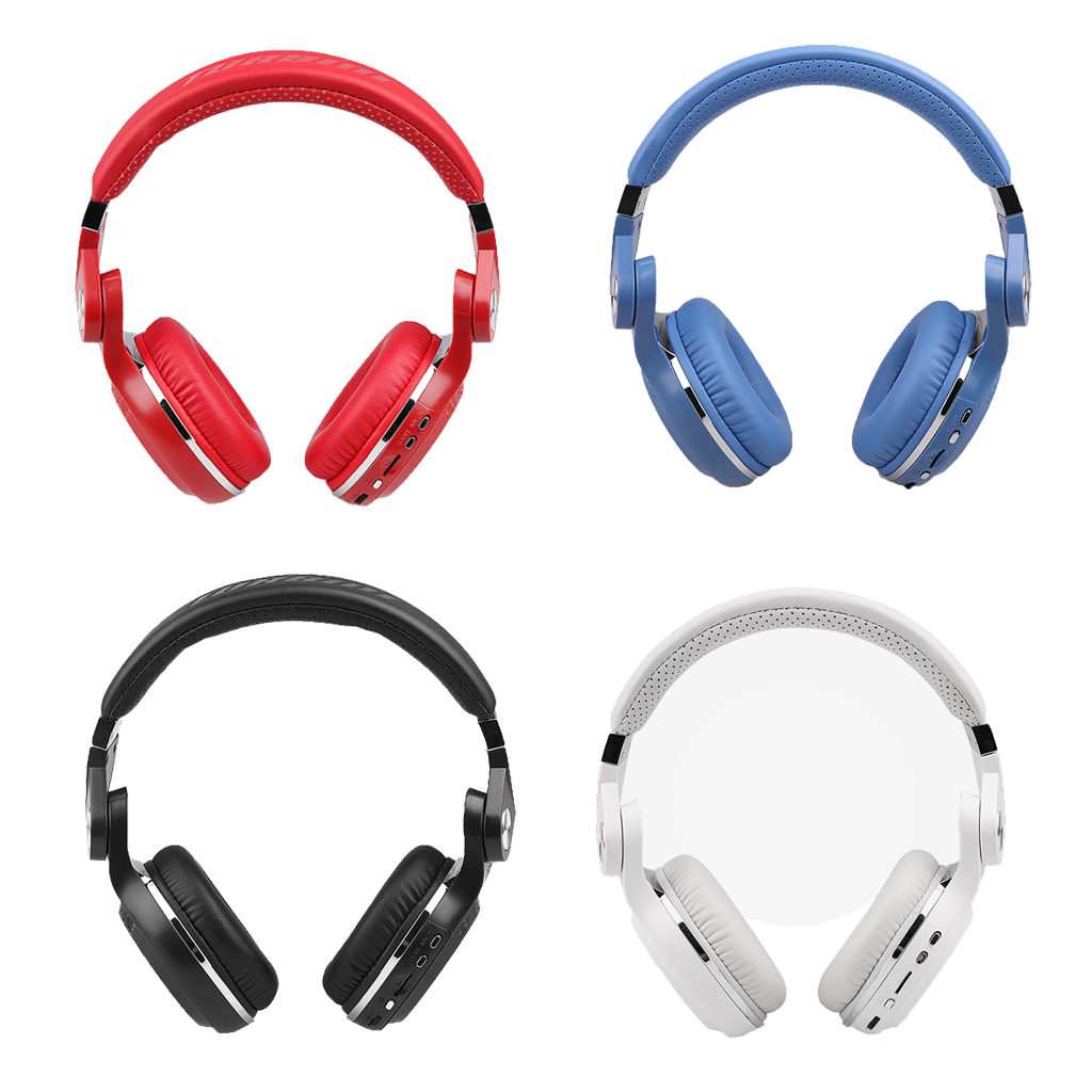 Casque Bluetooth sans fil Bluedio T2 Plus Turbine avec fente pour carte micro/Radio FM