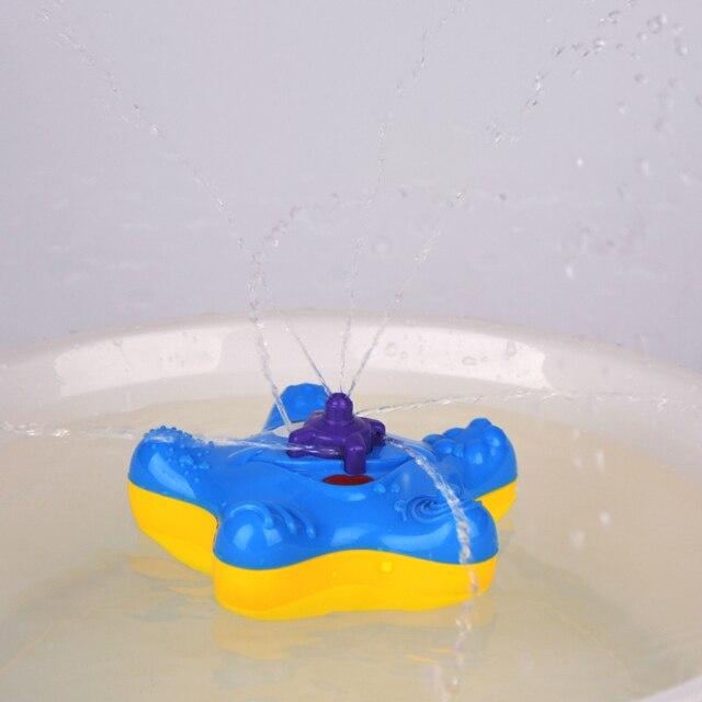 Ferramenta de Brinquedo de Banho Banheiro Banho Squirter Pulverizador Respingo Estrela Do Mar estrela do mar Com Movimento Elétrico Girar Chuveiro Infantil Toy Kids