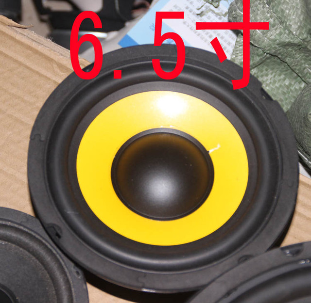 Handle 65 Inch Woofers 4 Ohm Woofer Speaker 80w Subwoofer Do Personal DIY Books Bookshelf