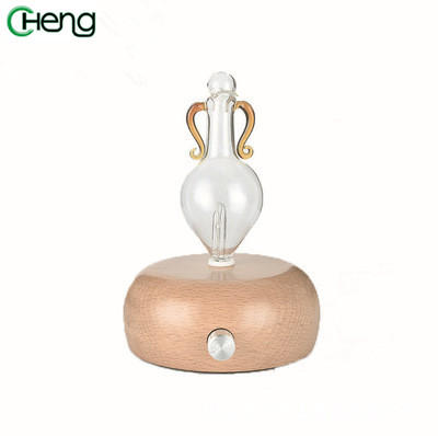 Mini Portable Anion Essential Oil Expanding Machine Diffuser Wooden Humidifier Filling Machine Fragrance Air Purifier portable air compressor 8l air pool cylinder noisy less light tool 0 7mpa pressure economic speciality of piston filling machine