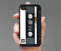 Retro Audio Cassette Tape Fashion Phone Cover Case For Iphone 4 4S 5 5S 5C SE6