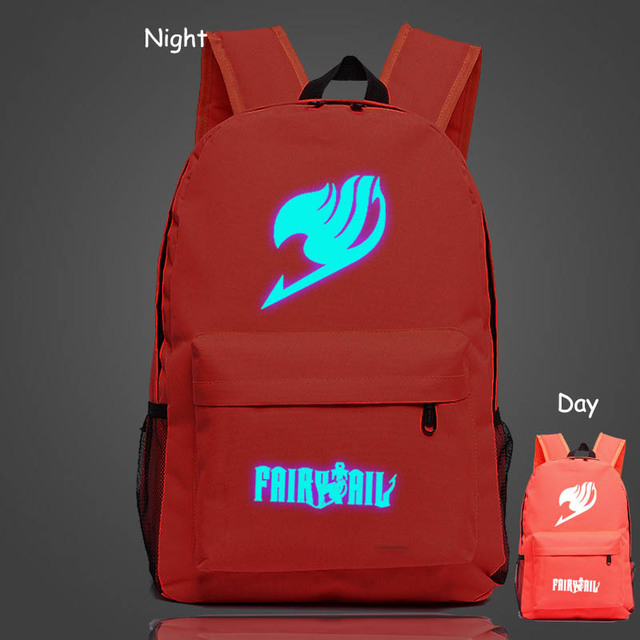 Fairy Tail Schoolbag Backpack Japan Anime Printing School Bag