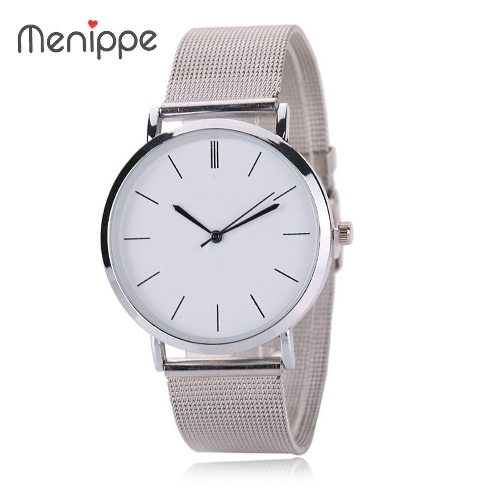 2020 New Famous Brand Silver Casual Geneva Quartz Watch Women Metal Mesh Stainless Steel Dress Watches Relogio Feminino Clock