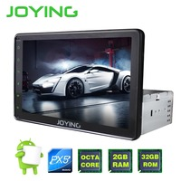 8 Single 1 Din PX5 Octa Core Multimedia Player Universal Android Head Unit Car Radio Stereo
