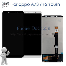 """6.0"""" For Oppo A73 A73T Full LCD DIsplay With Touch Screen Digitizer Assembly For Oppo F5 Youth CPH1725 A73V1 LCD Replacement"""