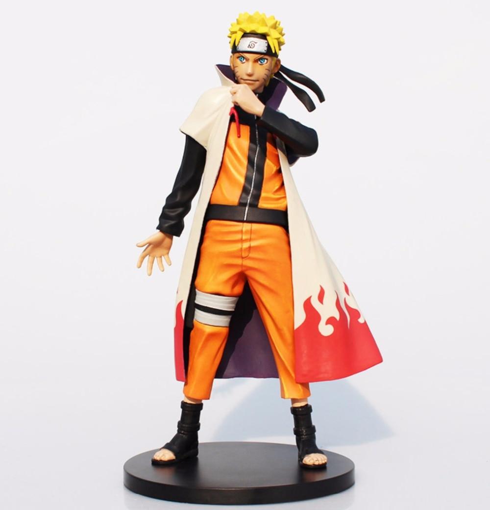 Naruto Shippuden Uzumaki Naruto PVC Action Figure Collectible Model Toy 10 25cm inbox naruto shippuuden hokage suit uzumaki naruto pvc action figure anime toy collectible model doll 15cm naruto sabio free shipping