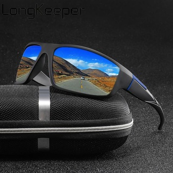 Long & Keeper Polarized Mirror Driver Shades - UV400 1