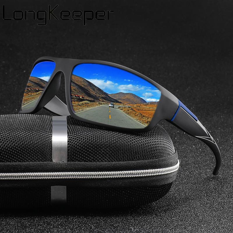 Fashion Polarized Sunglasses Men Women Brand Design Classic Square Sun Glasses Driver Shades Male Vintage Mirror Glasses UV400