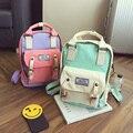НОВАЯ мода harajuku девушка конфеты цвет лоскутное Ramen шары женский Рюкзак школьный женщин путешествовать сумка