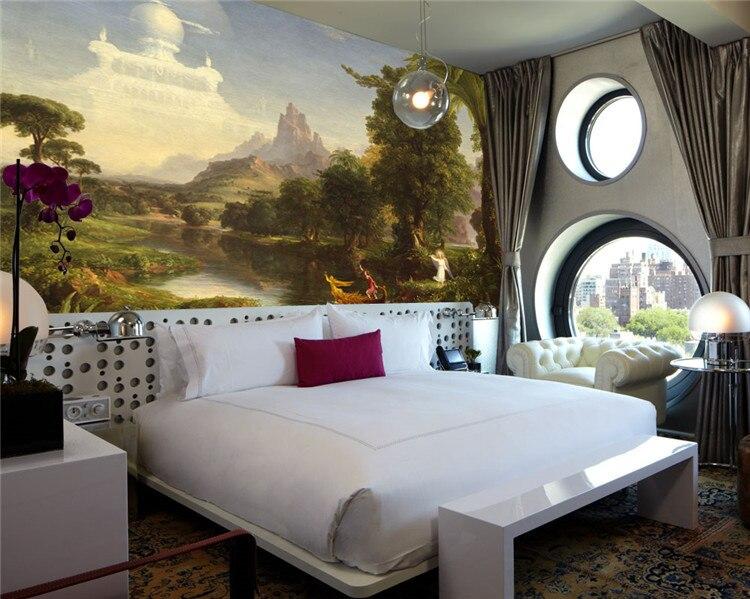 Vintage Photo Wallpaper Famous Painting Wall Mural Art Room Decor Kid Bedroom Living