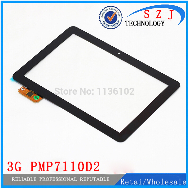 New 10.1 inch case for Prestigio Multipad 4 Diamond 10.1 3G PMP7110D2 Touch screen panel digitizer glass Free shipping new prestigio multipad pmt3008