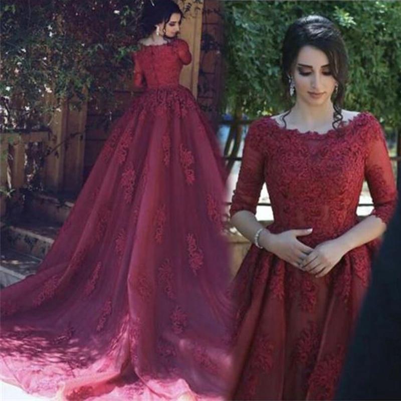 Vinca sunny evening   dresses   Burgund long   prom     dress   Detachable women pageant gown formal party   dress   vestido de festa