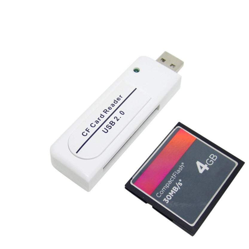 Quality High Speed USB2.0 CF Card reader Compact Flash card reader July11#2 Dropship