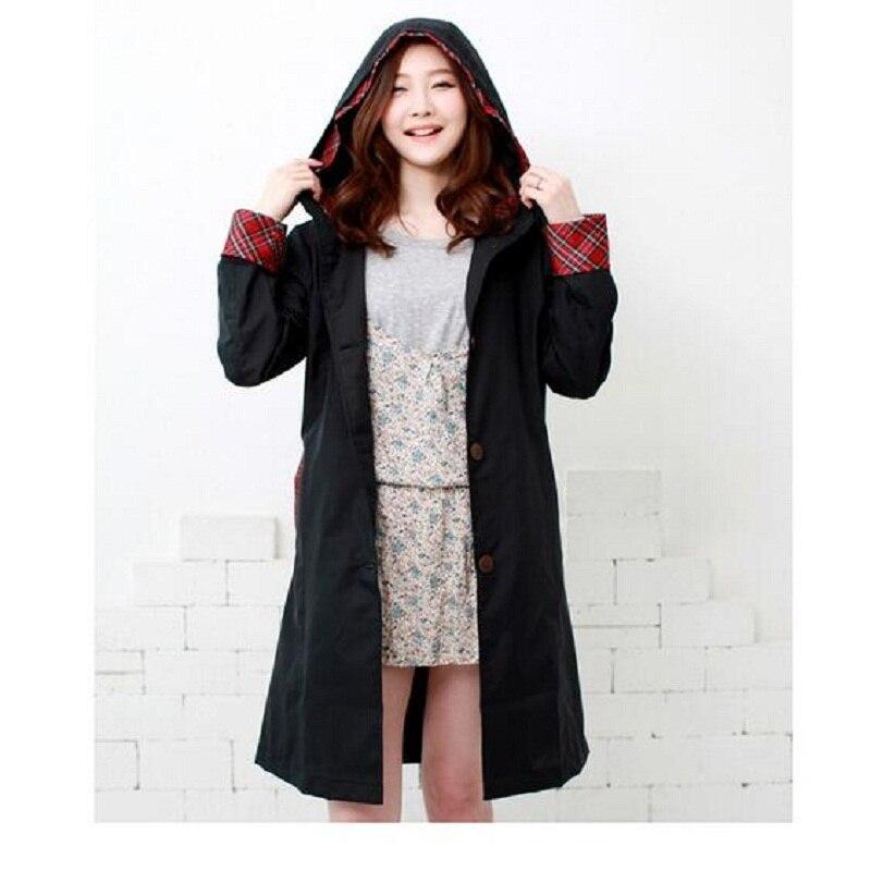 WINSTBROK Női esőkabát vízhatlan hosszú eső kabát 2017 divat - Háztartási árucikkek