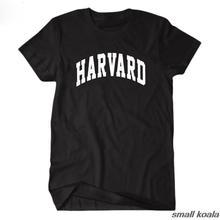 e5dc214fe4d7 Harvard University short sleeve t shirt tee t-shirts men and women casual  jersey streetwear