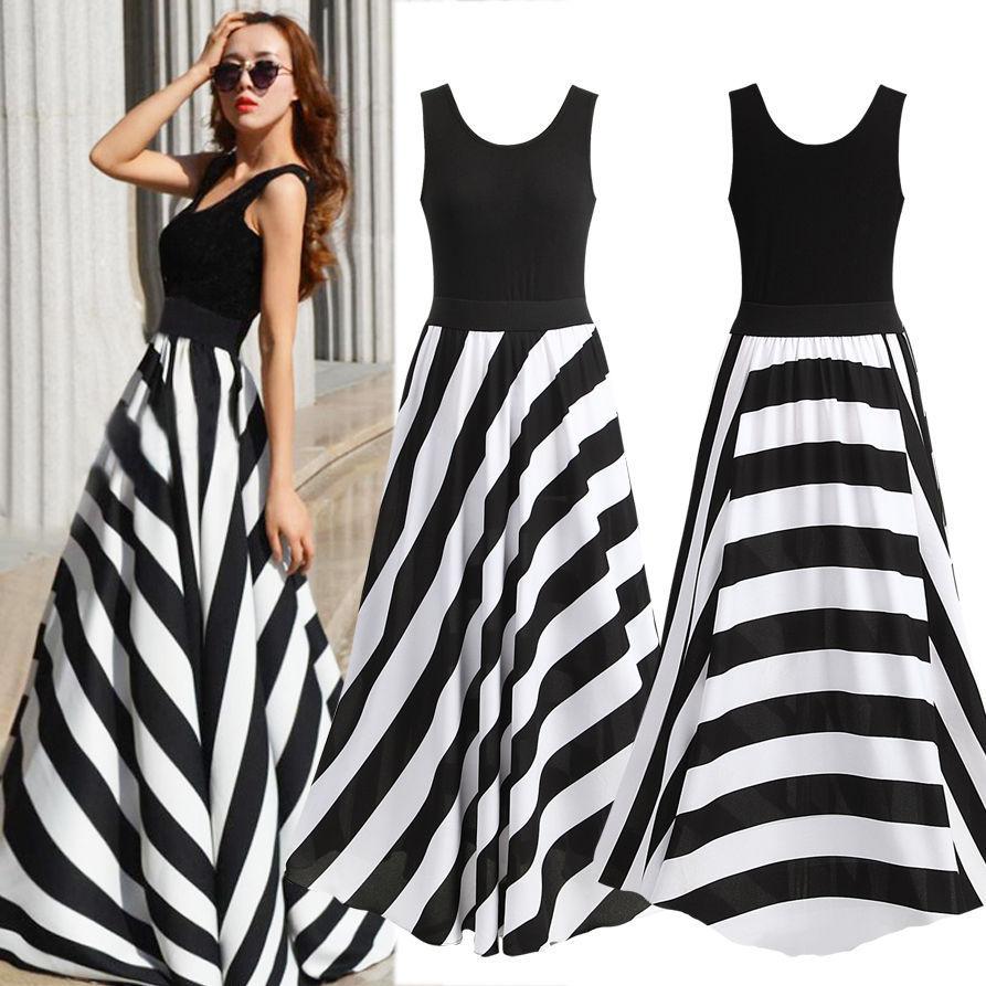 Black And White Dresses For Women