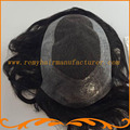 Free Shipping 1b# 2# 3#color looks very natural single knots 100% Indian hair Swiss lace and around PU men's toupee wigs