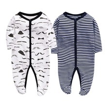 цена на Newborn baby rompers cotton romper boys clothes overalls pajamas infants bebes jumpsuit premature infant baby clothes